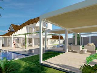 Casa sabanilla :  de estilo tropical por 3DStudio.w, Tropical