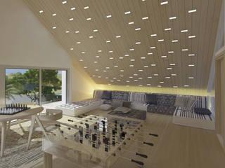 Casa sabanilla de 3DStudio.w Moderno