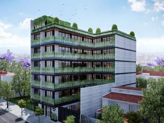 Proyecto A 1003 Casas modernas de Grupo Inmobiliario Dofer Moderno