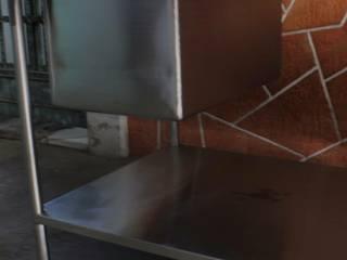 MUEBLES COCINA INDUSTRIAL Gastronomía de estilo industrial de TRAMEINOX Industrial