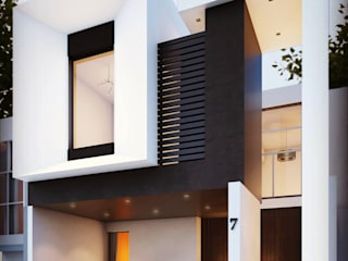 Casa Victoria: Condominios de estilo  por Ch-S Estudio de Arquitectura,