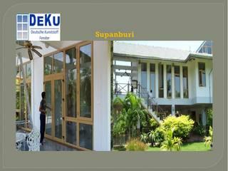 Housing Project:Supanburi โดย DeKu German Windows Co.,ltd เอเชียน พลาสติก