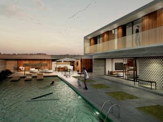 E025 | Projeto residencial Casas mediterrâneas por Estúdio 2 : 1 Mediterrâneo