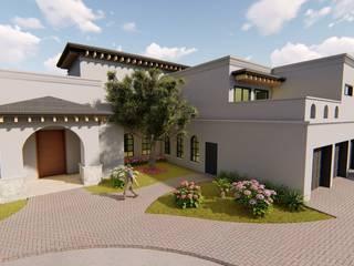 San Armando: Casas unifamiliares de estilo  por QP Arquitectos SA de CV