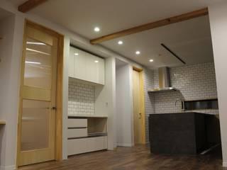 有玉北町の家 オリジナルデザインの キッチン の 新田建築設計室 オリジナル
