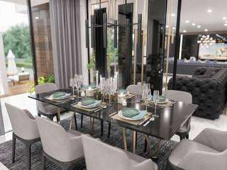 Sapanca Villa Modern Yemek Odası VERO CONCEPT MİMARLIK Modern