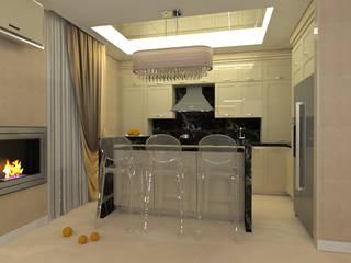 Кухня + столовая 1 вариант : Кухни в . Автор – Тарахович Анастасия