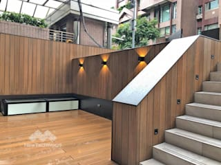 新綠境實業有限公司 Asiatischer Garten Holz-Kunststoff-Verbund Holznachbildung