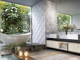 CASAS DE BANHO Casas de banho minimalistas por INUSITTÁ COZINHAS Minimalista