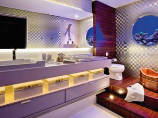 CASAS DE BANHO Casas de banho modernas por INUSITTÁ COZINHAS Moderno