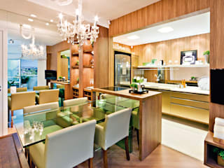 SALAS Salas de jantar modernas por INUSITTÁ COZINHAS Moderno