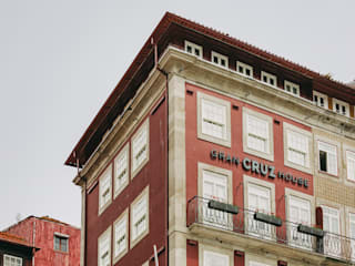 Gran Cruz House Hotéis modernos por N&N-Arquitectura e Planeamento, Lda Moderno