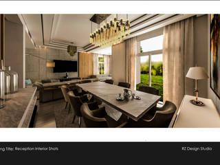 Salle à manger minimaliste par Reham Ezzeldin Design Studio Minimaliste