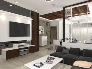 Residential Work :  Living room by JC INNOVATES