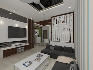 Residential Work Asian style living room by JC INNOVATES Asian