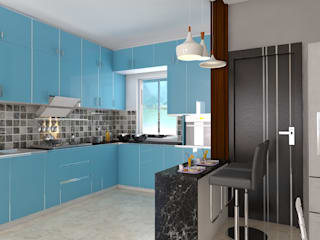 Kitchens:  Built-in kitchens by JC INNOVATES