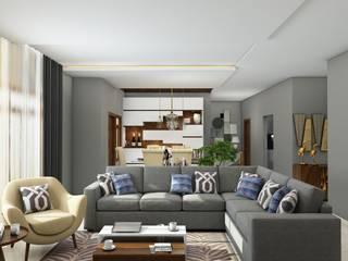 Rajapark Apartment:   by Stugut Interiors