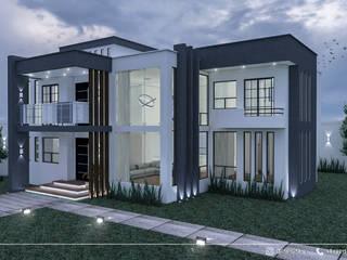 CASA HABITACIÓN SCH VARELA: Casas unifamiliares de estilo  por Insitun Arquitectos