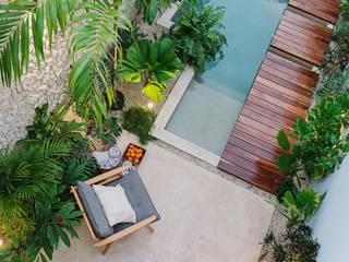 Casa Picasso por Workshop Diseño y Construcción en Mérida Workshop, diseño y construcción Albercas de jardín
