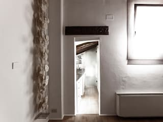 Modern Corridor, Hallway and Staircase by elena romani PHOTOGRAPHY Modern