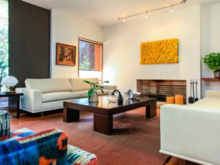 Appartement à Bogota - Colombie: Salon de style  par Catalina Castro Blanchet ,