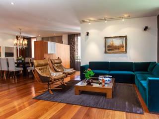 Appartement à Bogota - Colombie Catalina Castro Blanchet Salon moderne