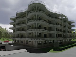 Mixed Use Building Design Dodoma, Tanzania:  Hotels by S3DA Design, Modern