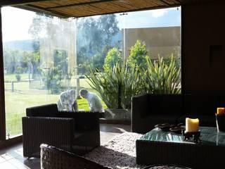 PRADERA DE POTOSI Salas modernas de Escarra arquitectos y asociados SAS Moderno