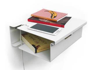 Mesa de Luz Flotante FLO:  de estilo  por Muett SRL,Minimalista