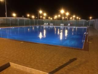 Sıdar Pool&Dome Yüzme Havuzları ve Şişme Kapamalar – Genel yüzme havuz tamamlama projesi - Suudi Arabistan:  tarz