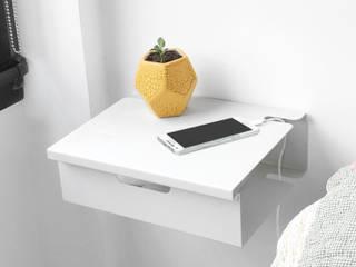 Mesa de Luz Flotante FLO:  de estilo industrial por Muett SRL,Industrial