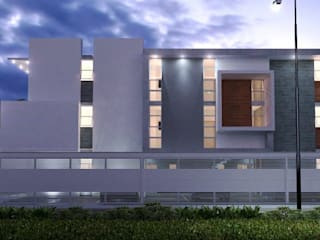 DEPARTAMENTOS C-11 de CREA arquitectos Moderno