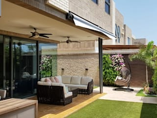 Terraza Casa Barranquilla DF:  de estilo  por P&P home decor,