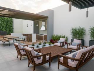 Jardines modernos: Ideas, imágenes y decoración de EDMtz Architecture and Archviz Moderno