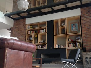 Casa de Campo AG Salas modernas de Intrazzo Mobiliairo Moderno