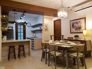 Sapphire Residences:  Dining room by Geraldine Oliva