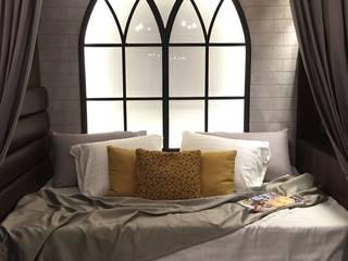 Neo gothic exhibit:  Small bedroom by Geraldine Oliva