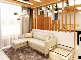 2 BHK FLAT AT BANGALORE by Aikaa Designs