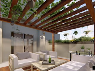LANDSCAPING FOR A VILLA AT BANGALORE by Aikaa Designs