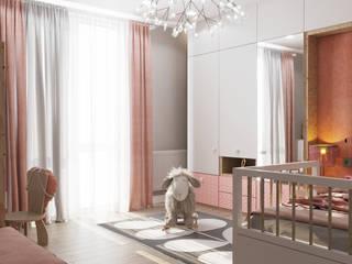 Мягкие радости Детские комната в эклектичном стиле от D'POLLY Эклектичный