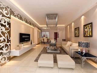 Living Room Design:   by 360 Home Interior