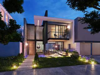 INSPIRA ARQUITECTOS Casas de estilo moderno