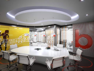 Study/office by INSPIRA ARQUITECTOS, Modern