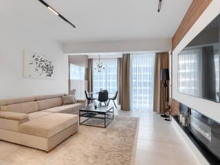 Modern living room by Tomasz Wachowiec Fotografia Wnętrz Modern