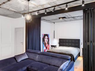 Apartament w Szczecinie: styl , w kategorii Salon zaprojektowany przez Tomasz Wachowiec Fotografia Wnętrz
