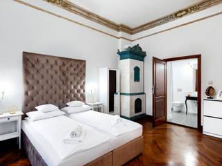 Aparthotel 1899 w Szczecinie: styl , w kategorii Salon zaprojektowany przez Tomasz Wachowiec Fotografia Wnętrz