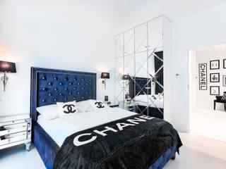 Apartament 010 w Dune B w Mielnie Nowoczesna sypialnia od Tomasz Wachowiec Fotografia Wnętrz Nowoczesny