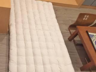 ที่นอนแบบญี่ปุ่น ฟุตง traditional natural kapok futon bed  :   by chalaluck