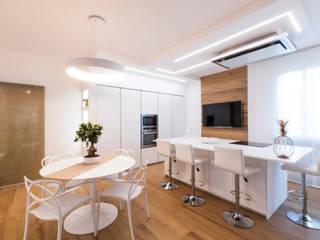 msplus architettura Вбудовані кухні MDF Білий
