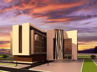 ANTE MİMARLIK Palacios de congresos de estilo moderno